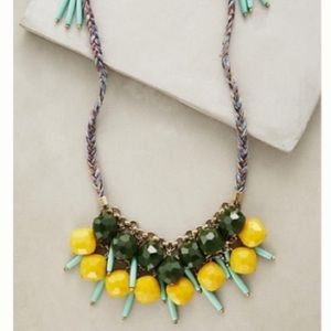Anthropologie Alondra Bib Necklace